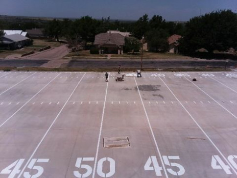 Concrete Services, Pavement Striping<br/>Amarillo, TX